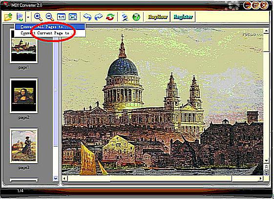 How to convert mdi to jpg? Use MDI Converter, MDI Viewer